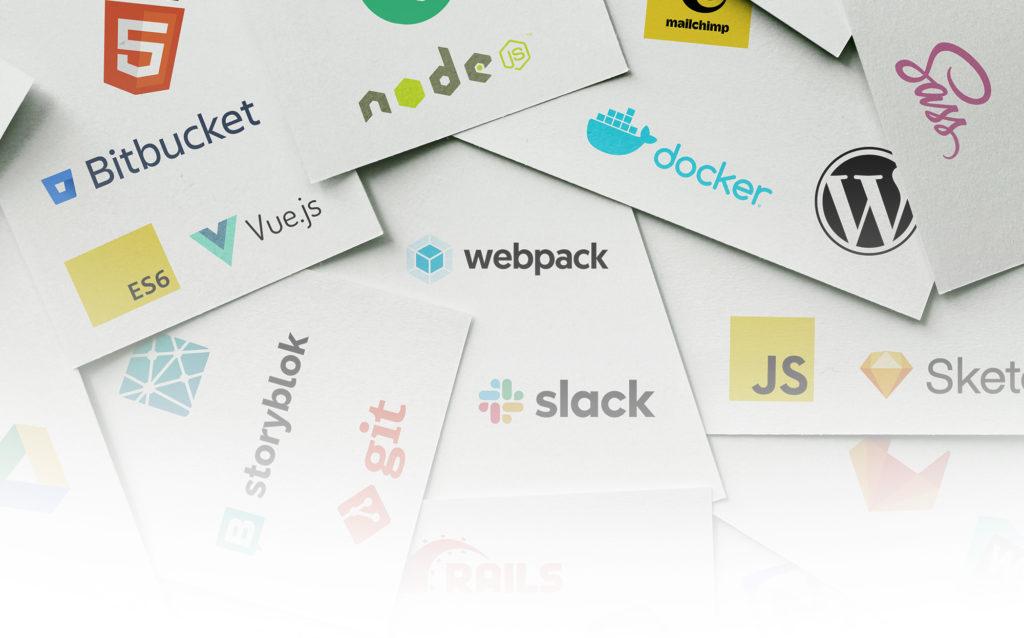 Ein Teil des nueva Tech Stacks