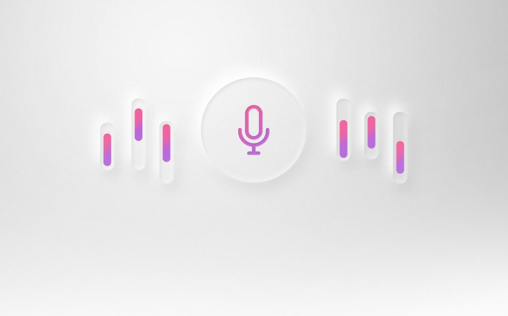 Symbol für Voice Assistant