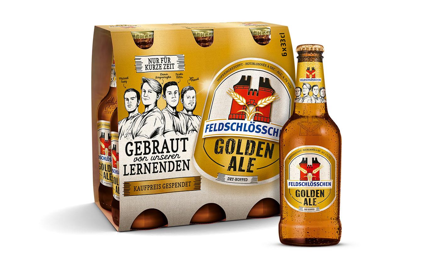 Das Lernendenbier 2020: Golden Ale (Packaging und Einzelprodukt)